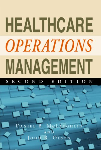 Healthcare Operations Management  2nd 2012 edition cover