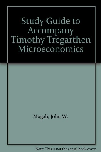 Microeconomics  Student Manual, Study Guide, etc.  9781572590441 Front Cover