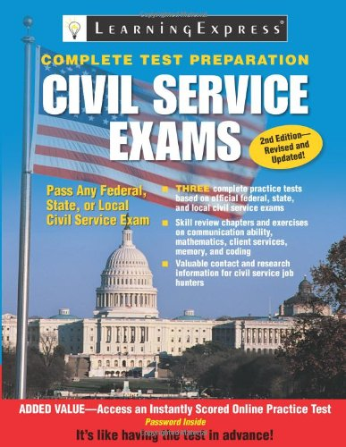 Civil Service Exams  2nd 2010 (Revised) edition cover