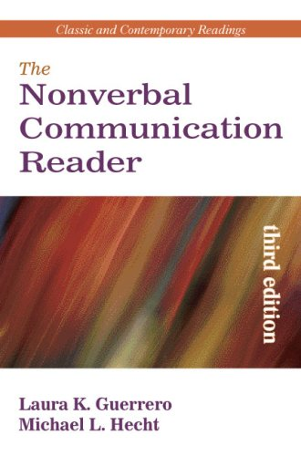 Nonverbal Communication Reader Classic and Contemporary Readings 3rd 2008 edition cover