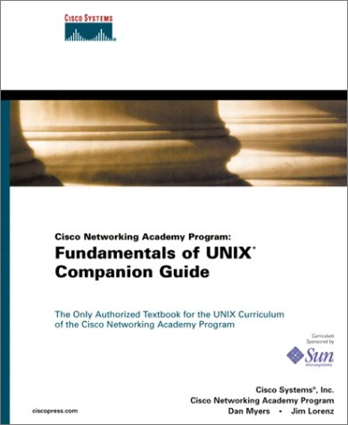 Cisco Networking Academy Program Fundamentals of UNIX Companion Guide  2002 edition cover