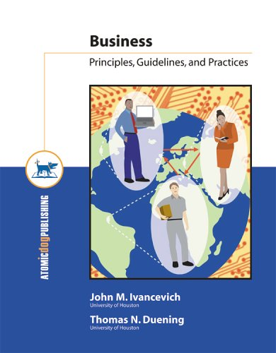Business : Principles, Guidelines, and Practices 1st edition cover