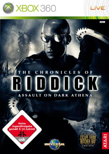 The Chronicles of Riddick: Assault on Dark Athena Xbox 360 artwork