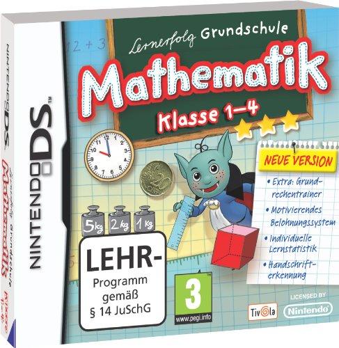 Lernerfolg Grundschule Mathematik 1.-4. Klasse (neue Version) Nintendo DS artwork