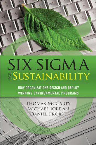 Six Sigma for Sustainability   2012 edition cover