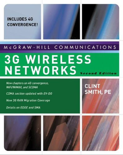 3G Wireless Networks  2nd 2007 (Revised) 9780072263442 Front Cover