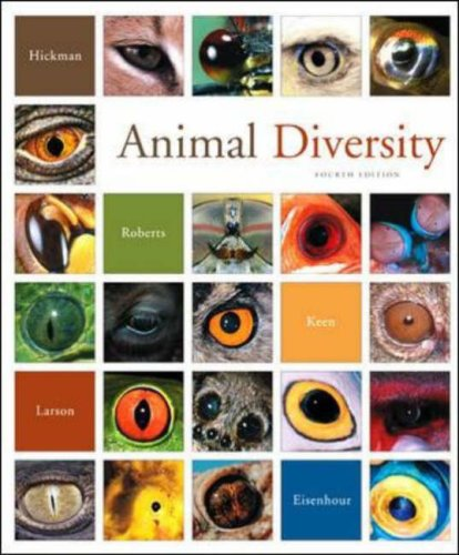 Animal Diversity  4th 2007 (Revised) edition cover