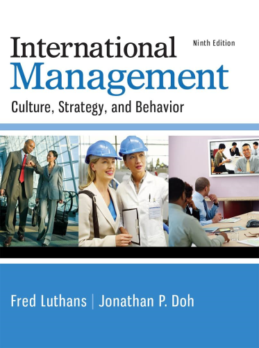 International Management Culture, Strategy, and Behavior 9th 2015 9780077862442 Front Cover
