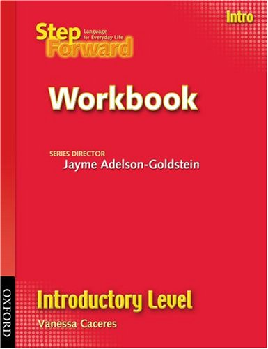 Step Forward, Introductory Level   2007 (Workbook) 9780194398442 Front Cover