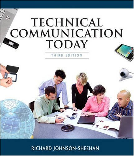 Technical Communication Today  3rd 2010 9780205632442 Front Cover