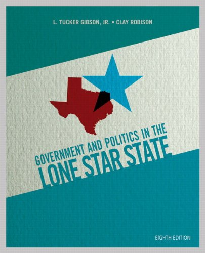 Government and Politics in the Lone Star State Plus NEW MyPoliSciLab with Pearson EText -- Access Card Package  8th 2013 edition cover