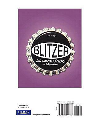 Intermediate Algebra for College Students, Books a la Carte Edition  5th 2009 edition cover