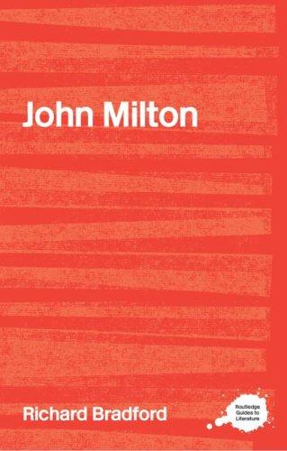 John Milton   2001 edition cover