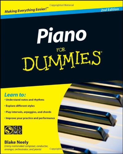 Piano for Dummies  2nd 2009 edition cover