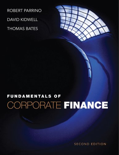 Fundamentals of Corporate Finance  2nd 2012 edition cover