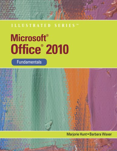 Microsoft� Office 2010 Fundamentals  2011 edition cover