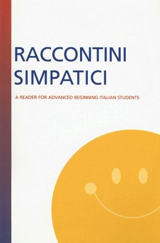 Raccontini Simpatici A Reader for Advanced Beginning Italian Students 2nd 2000 edition cover