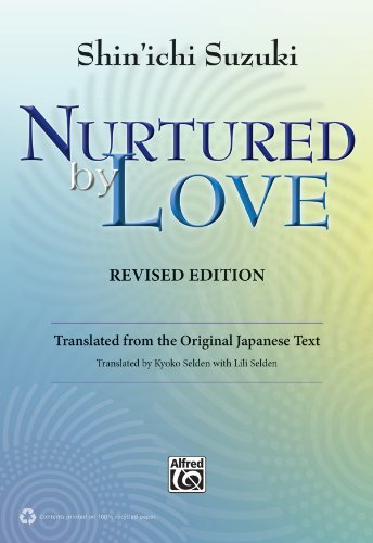 Nurtured by Love Translated from the Original Japanese Text  2013 (Revised) edition cover