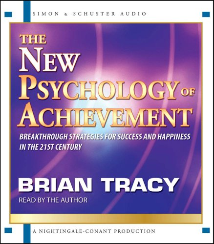 The New Psychology of Achievement:  2009 edition cover