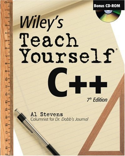 Wiley's Teach Yourself C++  7th 2003 (Revised) edition cover