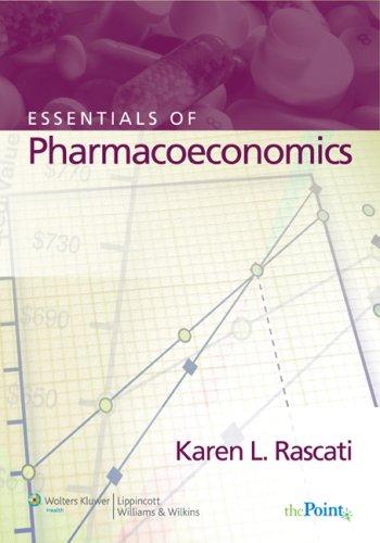 Essentials of Pharmacoeconomics   2008 edition cover