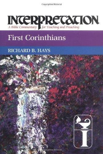 I Corinthians  N/A edition cover