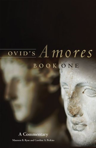 Ovid's Amores A Commentary  2011 9780806141442 Front Cover