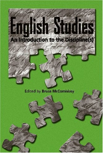 English Studies : An Introduction to the Discipline(s)  2006 edition cover