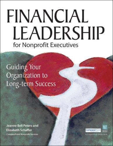 Financial Leadership for Nonprofit Executives Guiding Your Organization to Long-Term Success  2004 edition cover