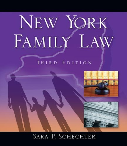 New York Family Law  3rd 2013 edition cover