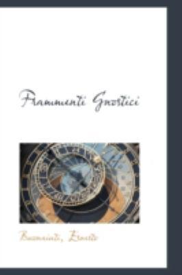 Frammenti Gnostici  N/A 9781113181442 Front Cover