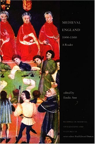 Medieval England, 1000-1500 A Reader  2000 edition cover