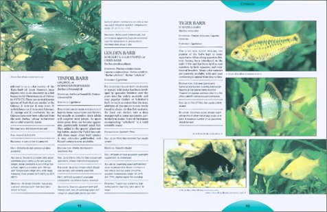 Complete Encyclopedia of the Freshwater Aquarium   2001 edition cover