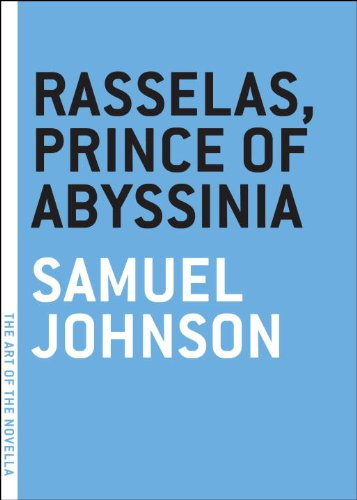 Rasselas, Prince of Abyssinia   2009 edition cover