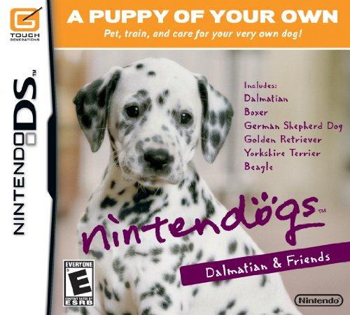 Nintendogs Dalmatian & Friends Nintendo DS artwork