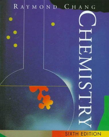 Chemistry 6th 1998 9780070116443 Front Cover
