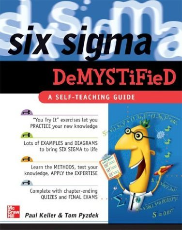 Six Sigma Demystified A Self-Teaching Guide  2005 9780071445443 Front Cover