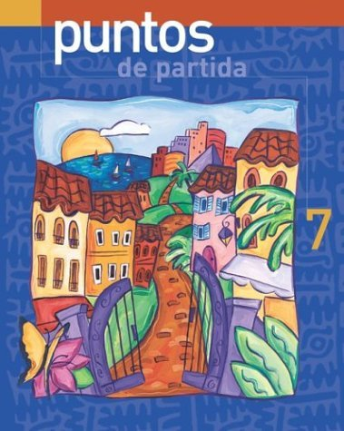 Puntos de Partida An Invitation to Spanish with Online Learning Center Bind-In Card 7th 2005 edition cover