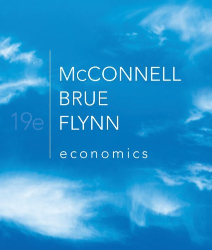 Economics  19th 2012 9780073511443 Front Cover