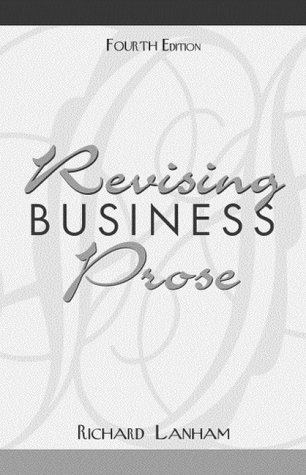 Revising Business Prose  4th 2000 (Revised) edition cover