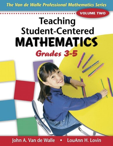 Teaching Student-Centered Mathematics   2006 edition cover
