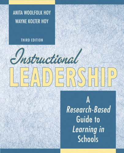 Instructional Leadership A Research-Based Guide to Learning in Schools 3rd 2009 edition cover