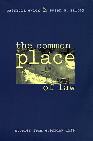 Common Place of Law Stories from Everyday Life  1998 edition cover
