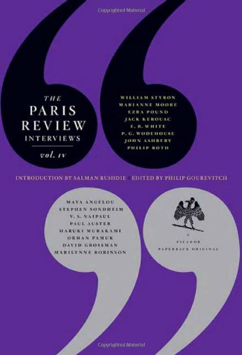 Paris Review Interviews, IV  N/A edition cover