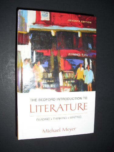 HS Bedford Introduction to Literature SM 7th 2004 9780312443443 Front Cover