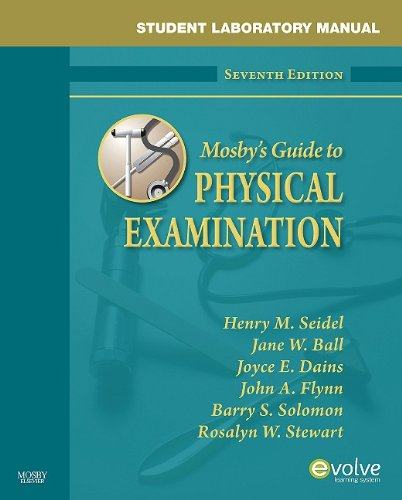 Student Laboratory Manual for Mosby's Guide to Physical Examination  7th 2010 edition cover