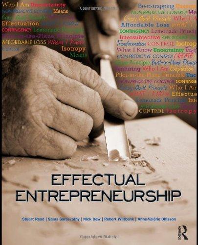 Effectual Entrepreneurship   2011 edition cover