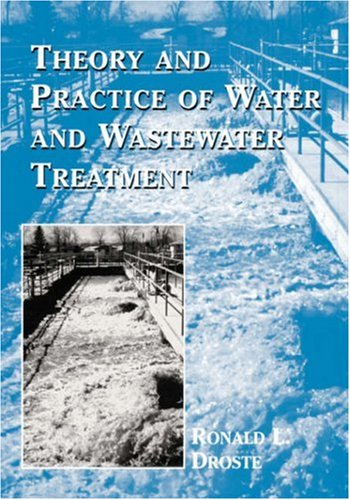 Theory and Practice of Water and Wastewater Treatment  1st 1997 edition cover