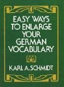 Easy Ways to Enlarge Your German Vocabulary   1974 9780486230443 Front Cover