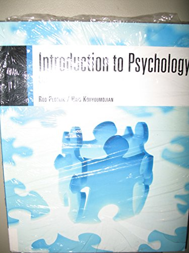 INTRO.TO PSYCH. >CUSTOM< N/A 9780495562443 Front Cover